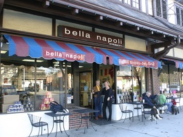 Entering Bella Napoli