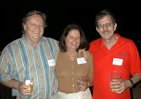 Ray Pouppirt, Charlotte (Cope) Molhler and Bob Stephens