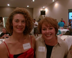 Lois Deschner and Janet O'Neal